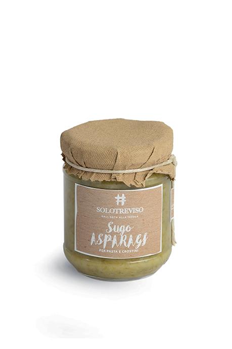 Sugo di asparagi verdi