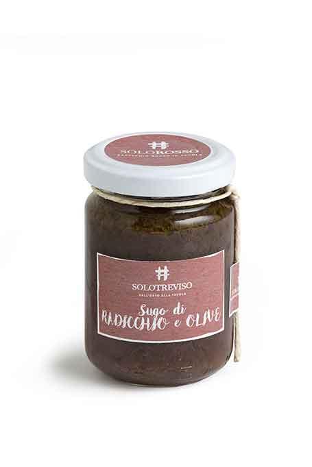 Sugo radicchio e olive